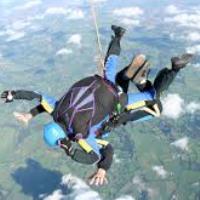 Mayor Chris' Charity Skydive